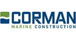 Corman Marine Construction logo